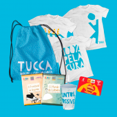 Kit Completo - Camiseta + DVD + Copo + Bag + Tíquete